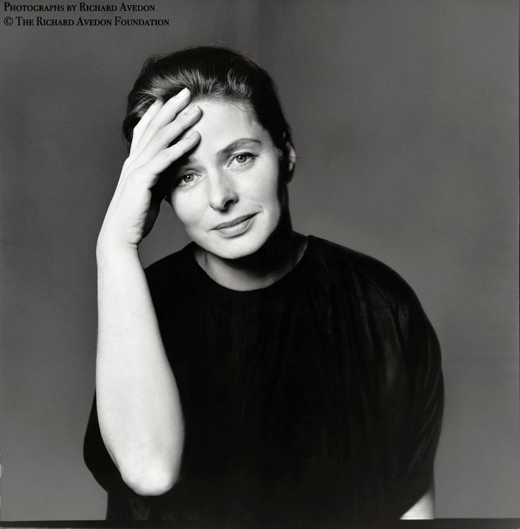 Ingrid Bergman, 1961, photo by Richard Avedon