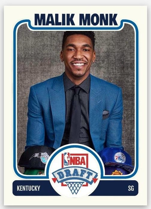 Malik Monk KENTUCKY WILDCATS NCAA Tournament 2017 NBA Draft Lottery Pick RC | Sports Mem, Cards & Fan Shop, Sports Trading Cards, Basketball Cards | eBay!