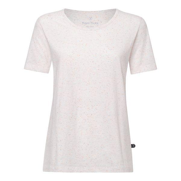 Thokkthokk Tt64 T Shirt Damen Weiss Confetti Bio Fair Shirts T Shirt Damen Und T Shirt
