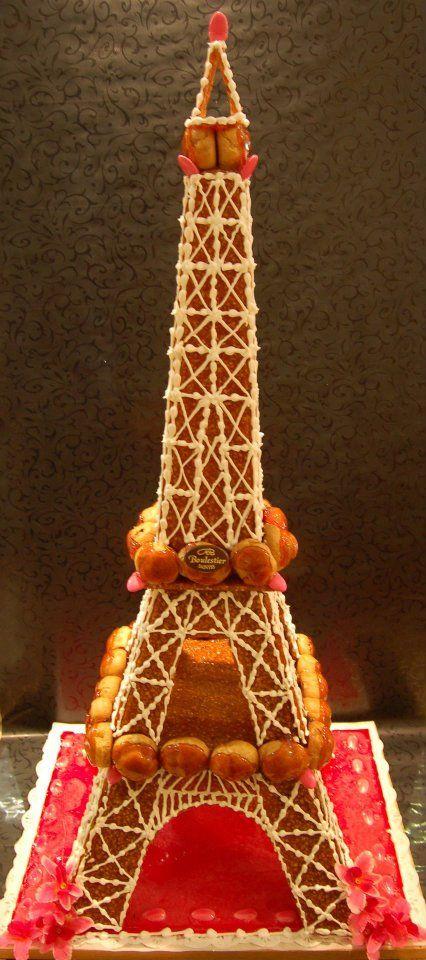 Tour Eiffel en choux | Pièce montée de choux divers ...