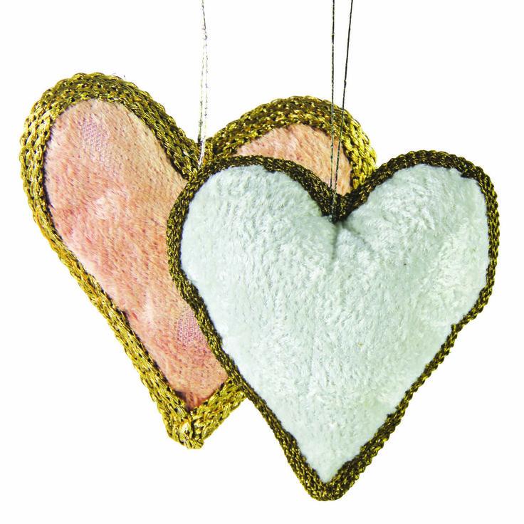 Apani velvet hanging hearts www.earlysettler.com.au