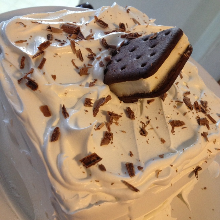 44 Best Images About Ice Cream Sandwich Cakes On Pinterest