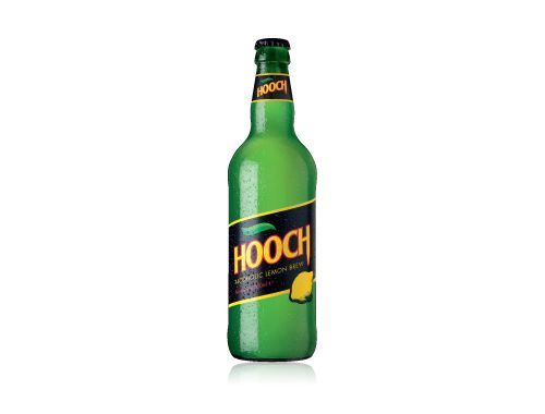 Hooch, the bitter lemon flavoured alcopop that started off the alcopop market, has announced it will be returning to the UK. Description from drink-brands.com. I searched for this on bing.com/images
