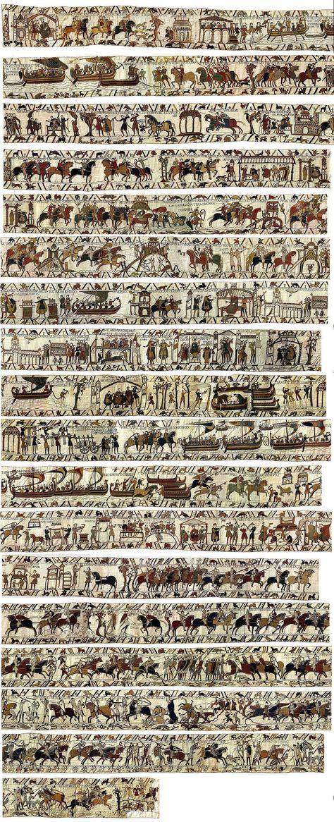 Les 25 meilleures id es de la cat gorie william le - Qu est ce que la tapisserie de bayeux ...