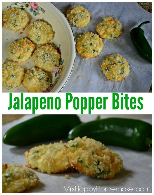 Love Jalapeno Poppers but hate the work? These Jalapeno Popper Bites are PERFECT then! Only 5 ingredients & 15 minutes of your time before they're done...and all the flavors are there!  YUMMM!