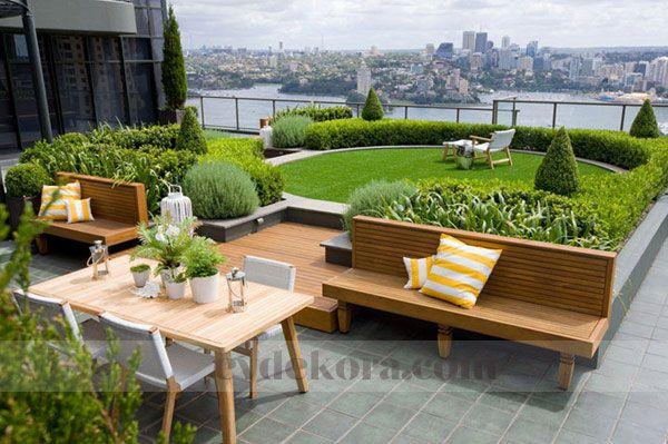 çatı bahçeleri örnekleri ile ilgili görsel sonucu