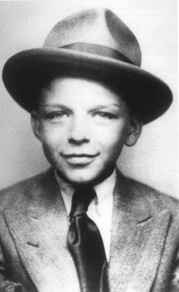 Frank Sinatra as a boy | Inspiration | Pinterest