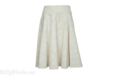 ROBERT RODRIGUEZ Embroidered Skirt Size 4
