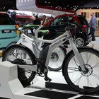 The electronic bicycle is a product manufactured by SMART USA, a green-friendly subsidiary of Mercedes Benz.
