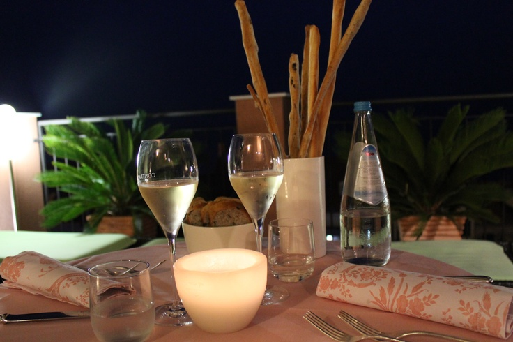 Dinner on the terrace anyone? Alassio, Italy