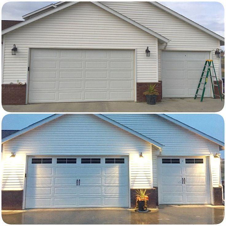 1000 ideas about garage door panels on pinterest wood for Dress up your garage door