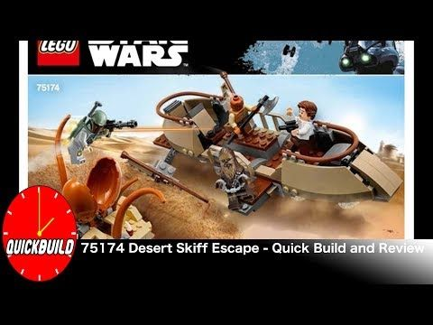 Just in: LEGO Star Wars 75174 Desert Skiff Escape - Quick Build and Review  https://youtube.com/watch?v=SuE0Gbl4rSo
