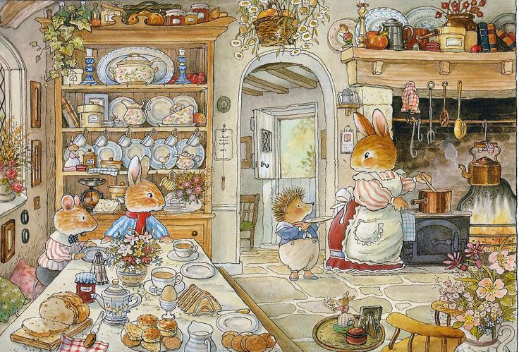 Breakfast Time - Foxwood Tales by Cynthia and Brian Paterson