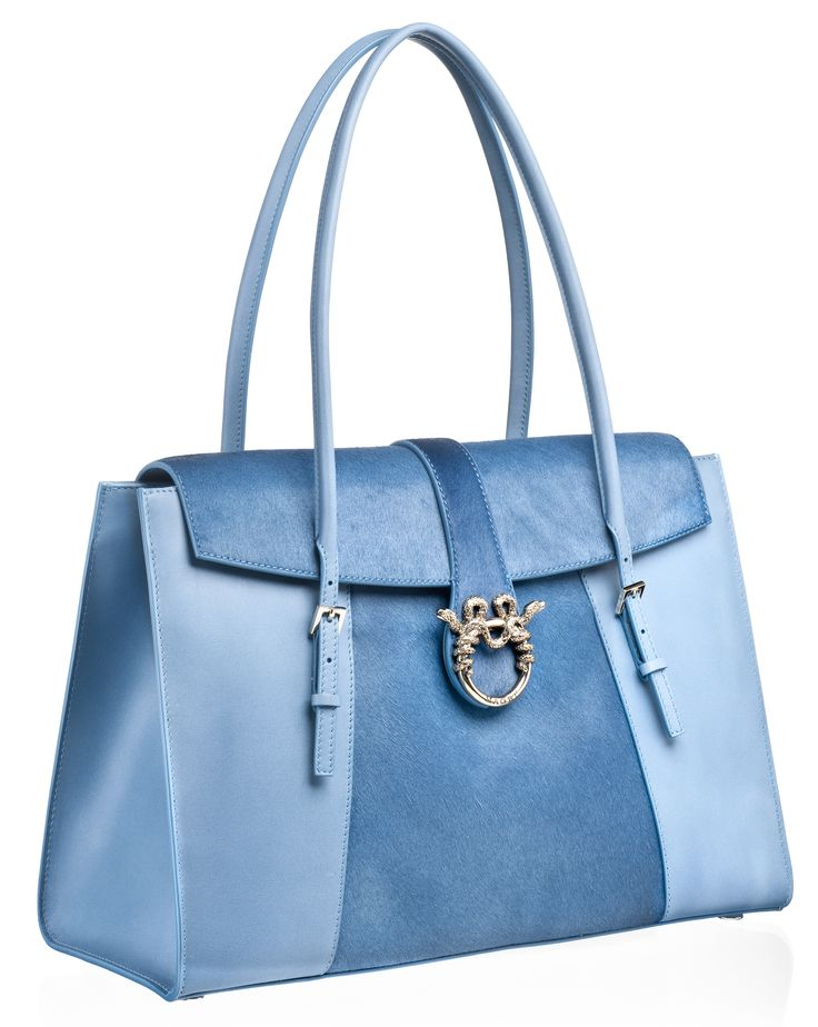 """MAGRÌ """"SATCHEL"""" shown in Pony and Calf Leather"""