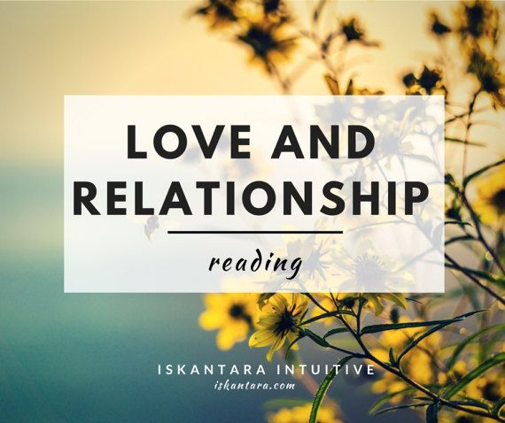 Love and relationship reading