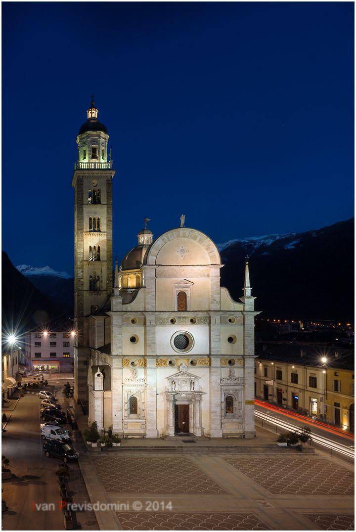 Santuario alla Madonna,  in Madonna di Tirano.  Ivan Previsdomini © 2014