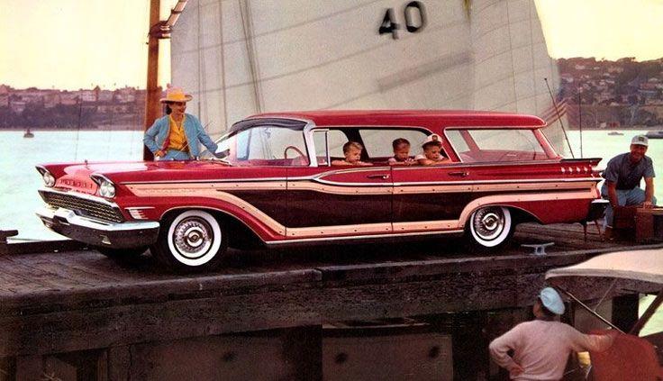 1957 Mercury Colony Park Station Wagon #1950s #vintage # ...