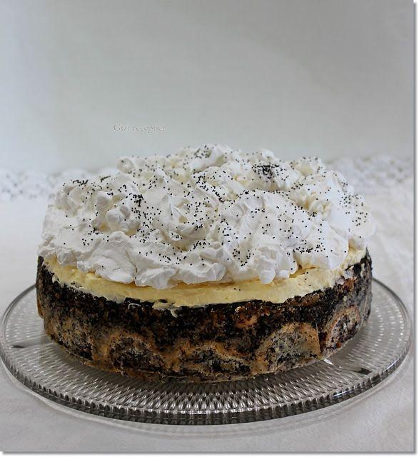 Gizi-receptjei. Várok mindenkit.: Mákos guba torta.