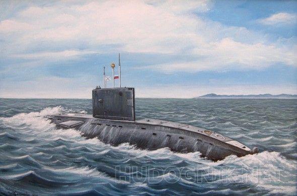 """Подводная лодка Б-227,пр 877, """"Выборг""""."""