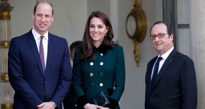 Paris: Britain's Prince William and his wife, Kate Middleton, were greeted by French President Francois Hollande as they began a two-day trip to Paris aimed at highlighting strong Franco-British ties despite Britain's looming exit from the European Union. It is Prince William's...