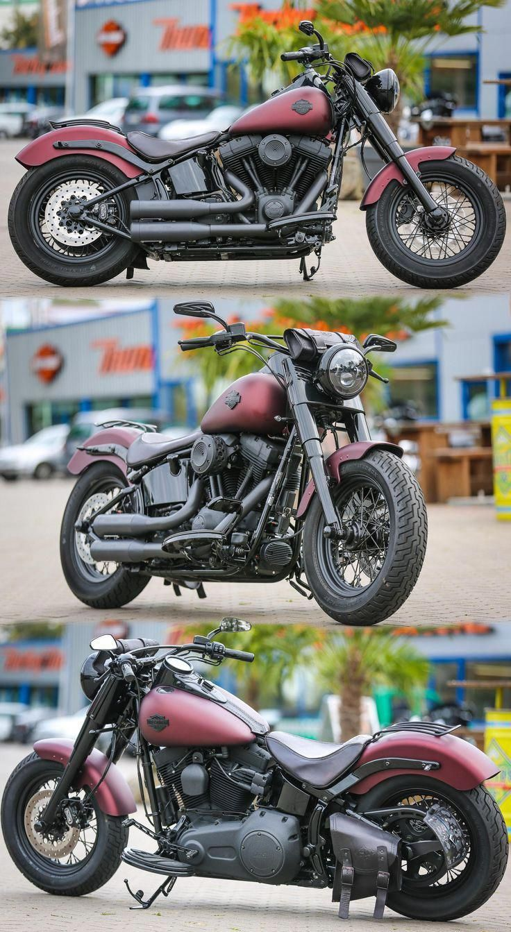 Softail-Slim customized by Thunderbike . Call today or stop by for a tour of our…