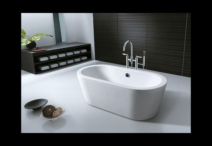 De 76 b sta salle de bain bilderna p pinterest - Baignoire ilot duravit ...