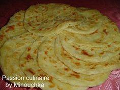 Le Melloui - crêpe feuilletée marocaine - Passion culinaire by Minouchka
