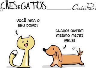 """Mágica Cult: Mágica de Quadrinhos: """"Cães e Gatos"""", as tirinhas ..."""