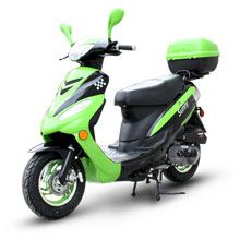 motor scooter | ... 50cc Moped Motor Scooter for sale at Ride Green Scooters, 100 MPG
