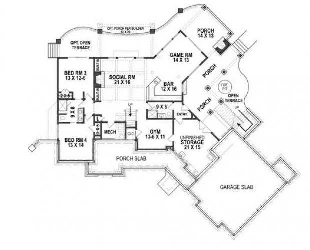 Harmony Cottage House Plan Craftsman Cottage Home Floor Plan Home Elegant House Plans Cottage House Plans Mountain House Plans Ranch House Plan