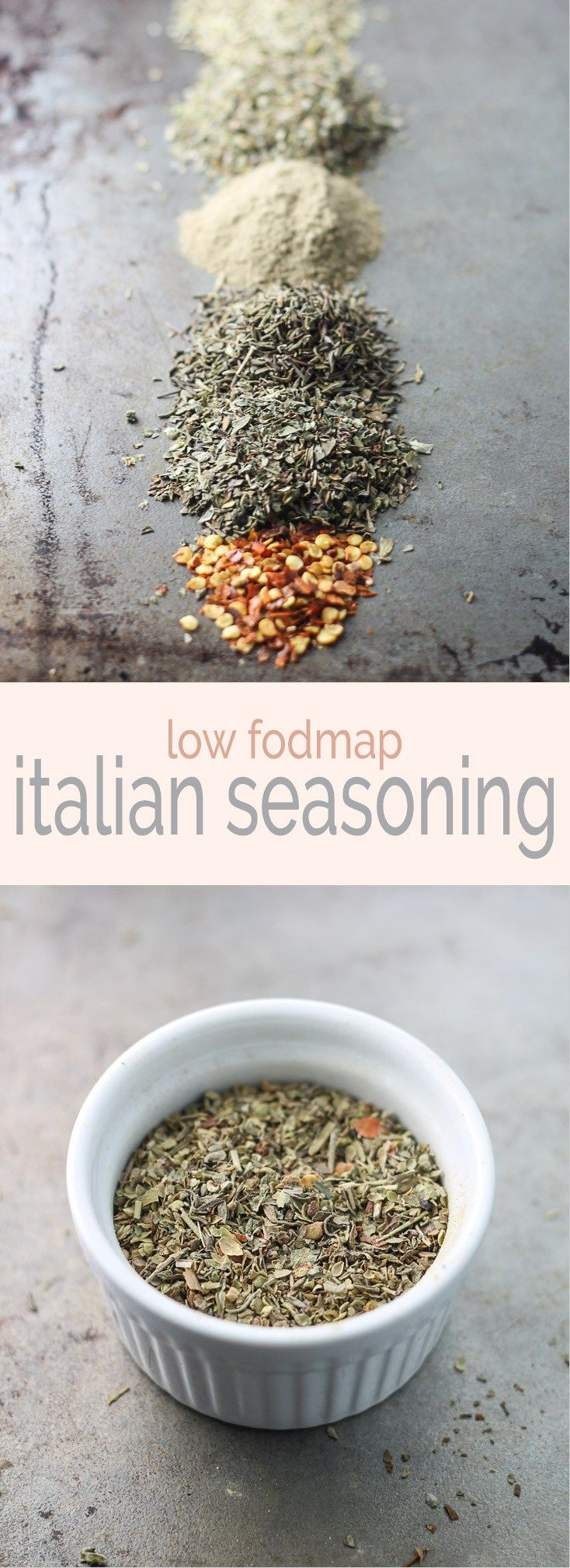 Add classic flavor to meatballs, spaghetti and more with this low fodmap Italian seasoning recipe - no garlic or onion needed!