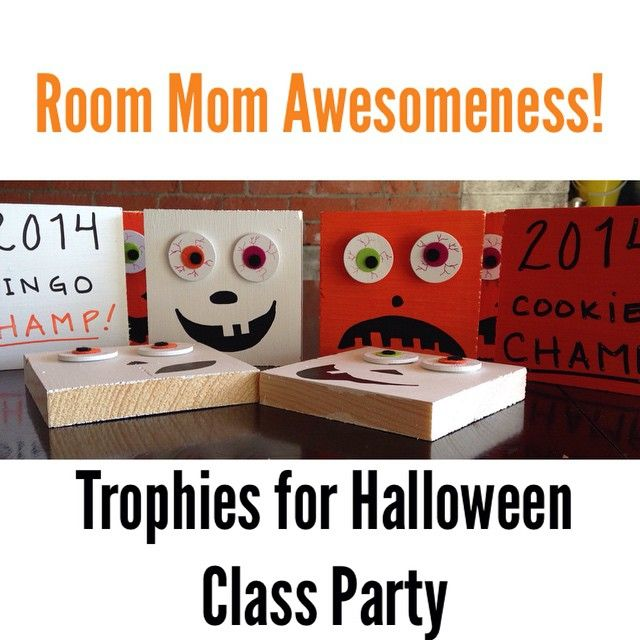 Cute little trophies I made for my son's 6th grade ...