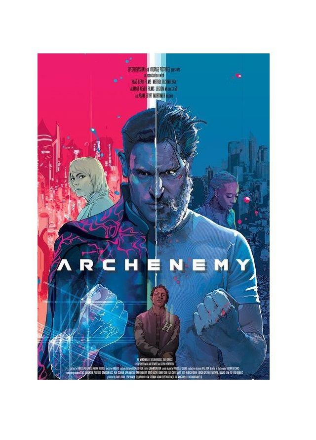 Archenemy In 2020 Art Poster Movies