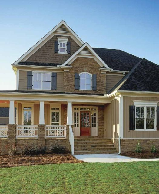 116 best images about home exterior stone siding on for Luxury farmhouses