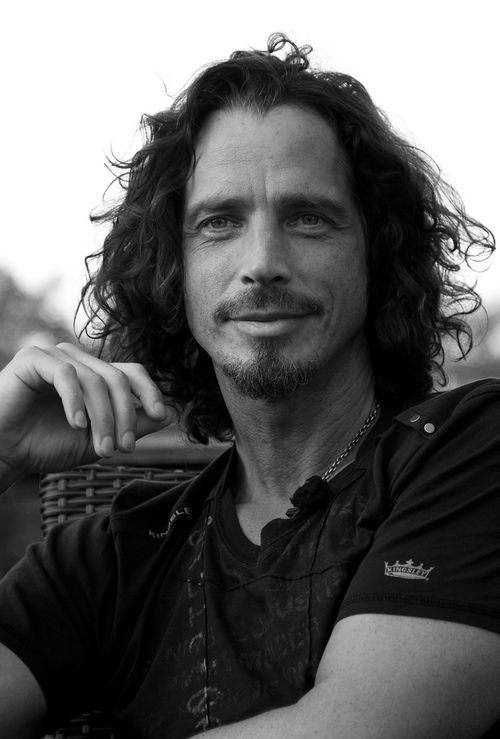 Chris Cornell - I don't really know anything about Soundgarden but this man is a hottie :)
