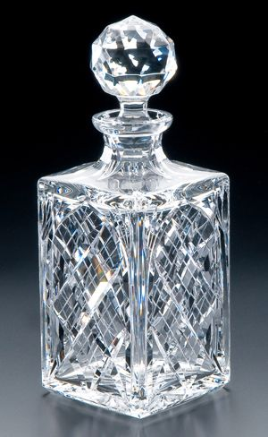 I need a china cabinet full of Cut Crystal Square Decanter