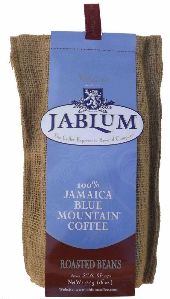 jablum 100 percent jamaica blue mountain coffee organic roasted beans or ground #Jablum