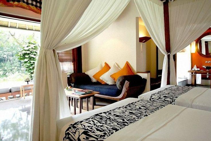 chambre à coucher design de style balinais