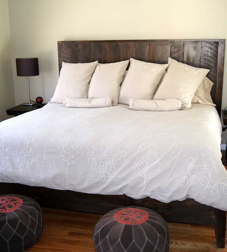 best 25 reclaimed wood beds ideas on pinterest reclaimed wood bed frame diy bed frame and rustic wood bed - Queen Size Wood Bed Frame