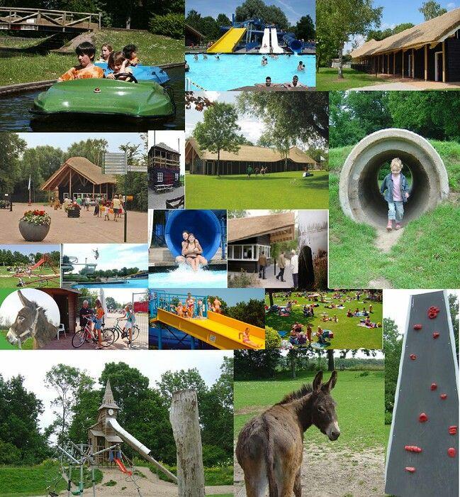 Recreatieoord Binnenmaas in Mijnsheerenland. (kinderboerderij, speeltuin met attracties, openlucht zwembad, survivalpad en jachthaven)