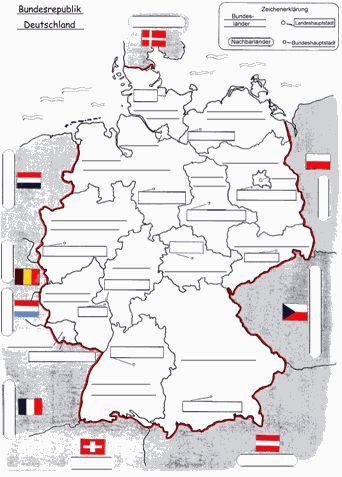 25 einzigartige landkarte deutschland ideen auf pinterest deutschland map landkarte. Black Bedroom Furniture Sets. Home Design Ideas