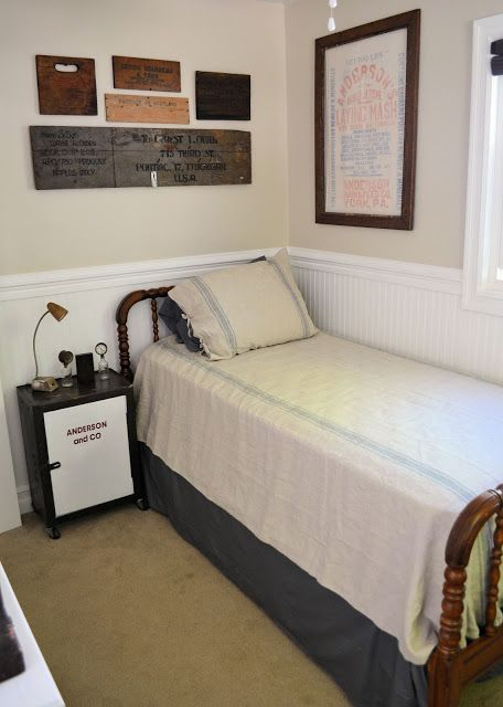 Industrial Chic Bedroom Reveal From Shabby Love {Decorating #33} Part 73