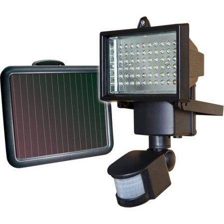 SunForce 60 LED Ultra Bright Solar Motion Light - Walmart.com