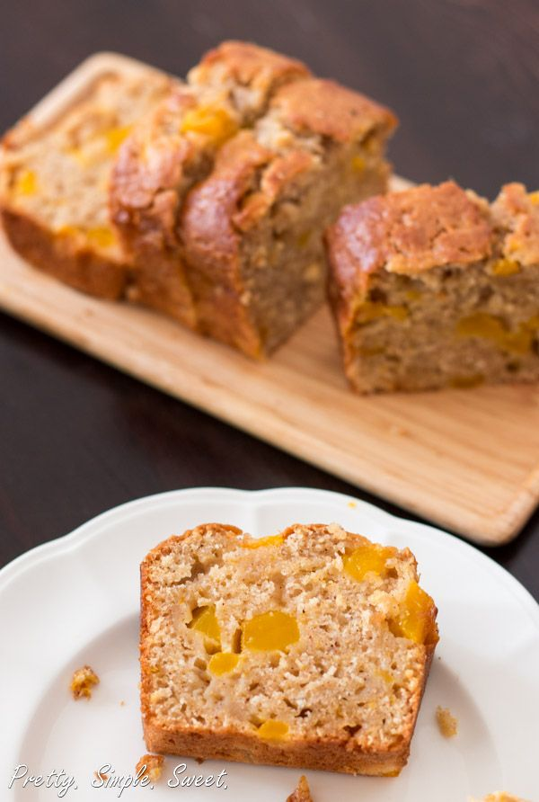 The Best Super Moist Mango Bread
