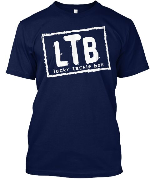 Lucky Tackle Box Navy T-Shirt - LIMITED EDITION NAVY BLUE https://teespring.com/ltbshirt