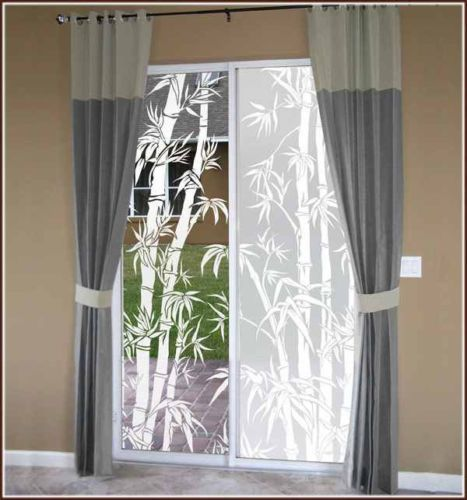 Bamboo #print clear or #frosted #adhesive-free window film cling asian orient dec,  View more on the LINK: http://www.zeppy.io/product/gb/2/172123064912/