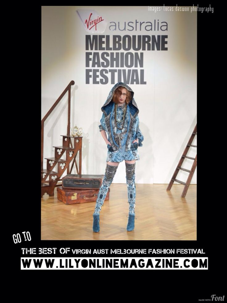 Go to our website for the best of the Virgin Australia Melbourne Fashion Festival #VAMFF
