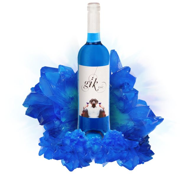 Young Spanish Entrepreneurs Create the World's First Blue Wine