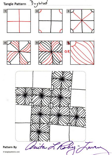 How to draw RA-ON « TanglePatterns.com