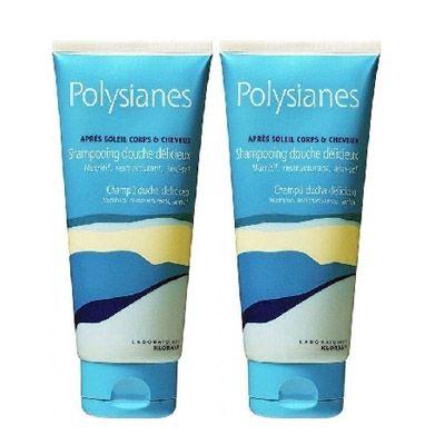 Klorane Polysianes Shampooing Douche Délicieux 2x200 Ml - Pharmacie Lafayette - Après-soleil